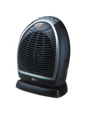 Digital Fan-Forced Oscillating Heater, 1500W, 9 1/4