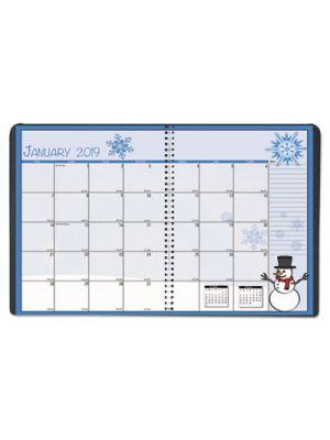 Seasonal Monthly Planner, 7 x 10, 2019