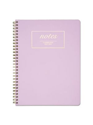 Workstyle Notebook, Legal Rule, Lavender Cover, 7 1/4 x 9 1/2, Perforated, 80Pg