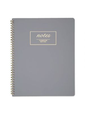Workstyle Notebook, Legal Rule, Gray Cover, 9 x 11, Perforated, 80 Pages