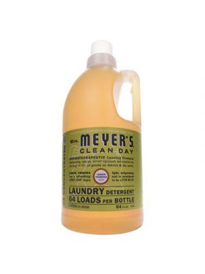Liquid Laundry Detergent, Lemon Verbena Scent, 64 oz Bottle