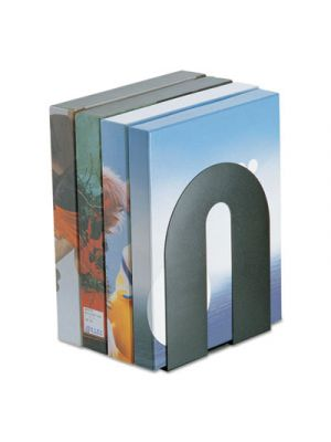 Heavy Duty Bookends, Nonskid, 8