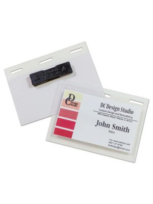 Self-Laminating Magnetic Style Name Badge Holder Kit, 2