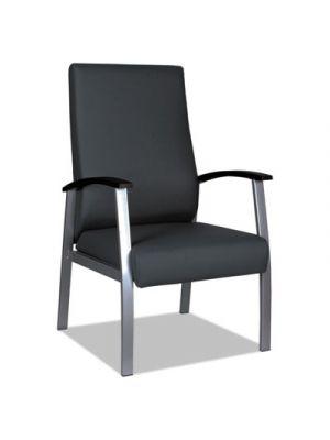 Alera metaLounge Series High-Back Guest Chair, 21.85
