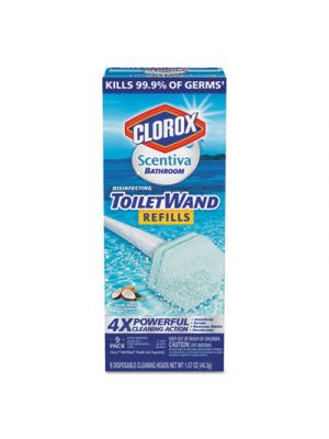 Scentiva Disinfecting ToiletWand Refills, 6/Pack