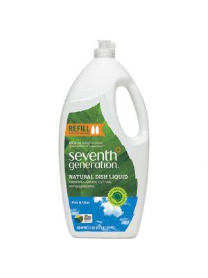 Natural Dishwashing Liquid, 50 oz Bottle, Unscented