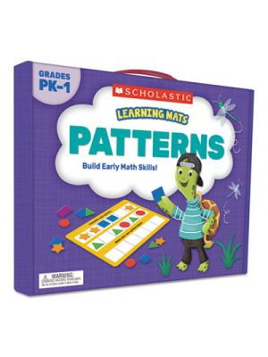 Learning Mats Kit, Patterns Learning Game, 70 Cards, Ages 3 and Up