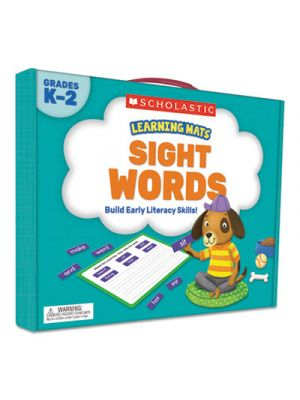 Learning Mats Kit, Sight Word Games, 120 Cards, Ages 5 and Up