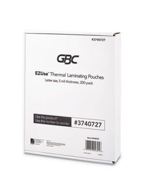 EZUse Thermal Laminating Pouches, 5 mil, 8 1/2