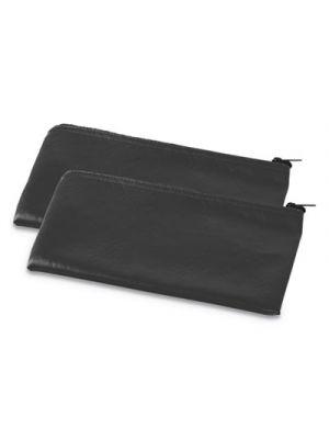 Zippered Wallets/Cases, 11w x 6h, Black, 2/PK