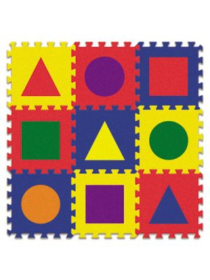 WonderFoam Early Learning, Shape Tiles, Ages 2 and Up