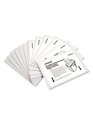Shredder Lubricant Sheets, 5.5