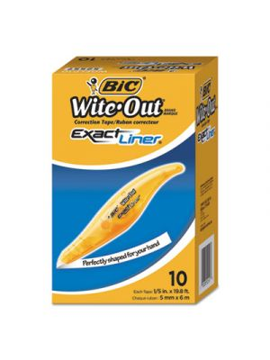 Wite-Out Brand Exact Liner Correction Tape, Non-Refillable, 1/5