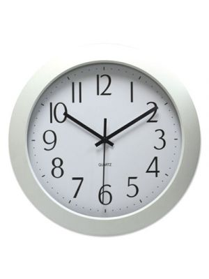Deluxe Whisper Quiet Clock, 12