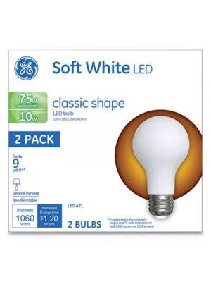 Classic LED Soft White Non-Dim A21, 10W, 2/Pack