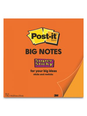 Big Notes, 11 x 11, Orange, 30 Sheets