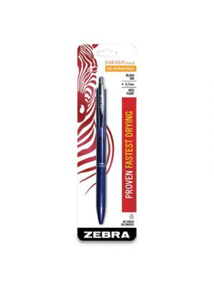 Sarasa Grand Retractable Gel Pen, Medium 0.7mm, Black Ink, Navy Barrel