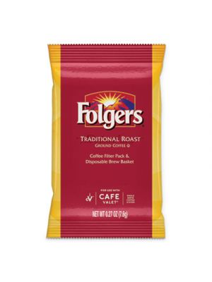 Traditional Roast, Regular, 0.27 oz Packet, 96/Carton