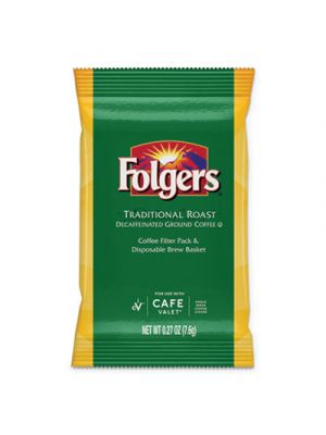 Traditional Roast, Decaf, 0.27 oz Packet, 96/Carton