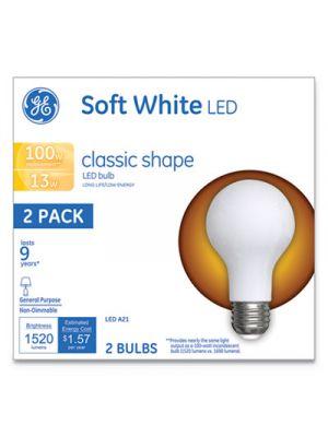 Classic LED Soft White Non-Dim A21, 13W, 2/Pack