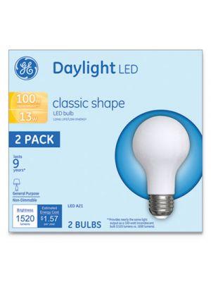 LED Classic Daylight A21 Light Bulb, 13W, 2/Pack