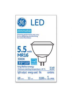 LED MR16 GU5.3 Dimmable Warm White Flood Light, 3000K, 6W