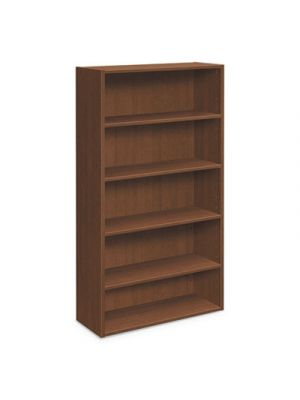 Foundation Bookcases, 32.06w x 13.81d x 65.38h, Shaker Cherry