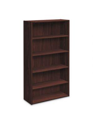Foundation Bookcases, 32.06w x 13.81d x 65.38h, Mahogany