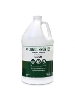 Bio Conqueror 105 Enzymatic Odor Counteractant Concentrate, Citrus, 128 oz, 4/CT