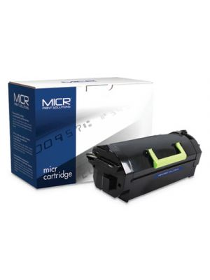 Compatible 52D0XA0/52D1X00 (520XA, 521X), MICR Toner, 45,000 Page-Yield, Black