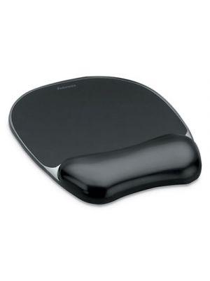 Gel Crystals Wrist Support, Mouse Pad/Wrist Rest, Black