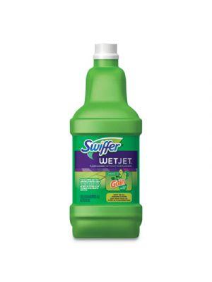WetJet System Cleaning-Solution Refill, Original Scent, 1.25 L Bottle, 4/Carton