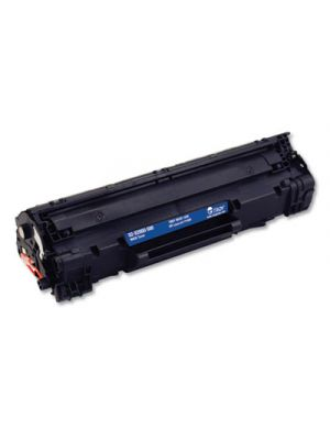 Compatible CE278A (HP 78A) MICR Toner, 2,100 Page-Yield, Black
