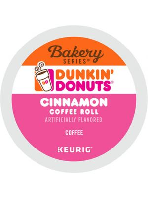 K-Cup Pods, Cinnamon, K-Cup, 24/BX