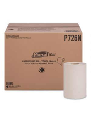 Hardwound Roll Paper Towels, 1-Ply, 7 7/8