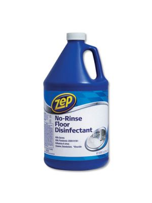 No-Rinse Floor Disinfectant, Pleasant Scent, 1 gal, 4/Carton