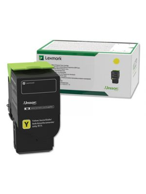 C241XY0, Extra High-Yield, Toner, 3500 Page-Yield, Yellow