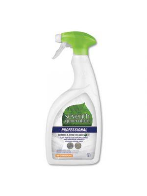 Granite and Stone Cleaner, Mandarin Orange Scent, 32 oz Bottle, 8/Carton