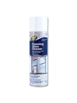 Foaming Glass Cleaner, Pleasant Scent, 19 oz Bottle, 12/Carton