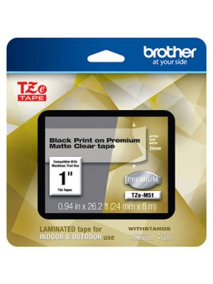 TZe Premium Laminated Tape, 1