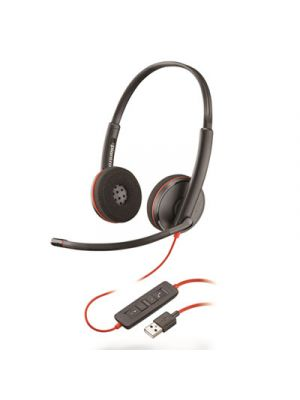 Blackwire 3220, Binaural, Over The Head Headset
