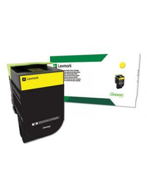 Remanufactured C544X4YG (C544) Return Program Extra High-Yield Toner, Yellow