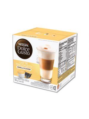 Capsules, Vanilla Latte Macchiato, 48/Carton