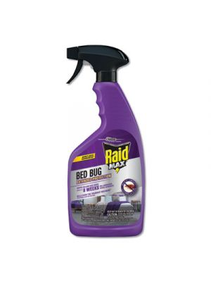 Bed Bug and Flea Killer, 22 oz Bottle, 4/Carton