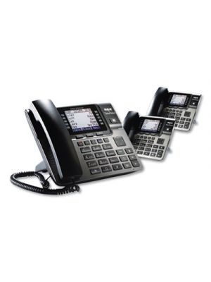 Unison 1-4 Line Wireless Phone System Bundle, 2 Additional Deskphones