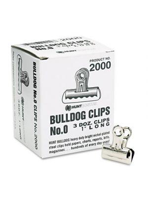 Bulldog Clips, Steel, 5/16