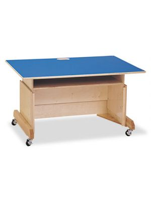 Computer Table, 42w x 29d x 30h, Blue