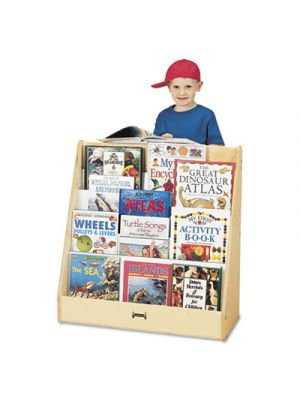 Pick-a-Book Stand Wish Flush Back, 30w x 13-1/2d x 27-1/2h, Birch