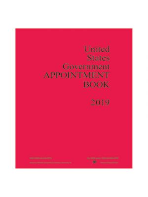 7530015453718, Weekly Appointment Book, 9 x 11, Red, 2019