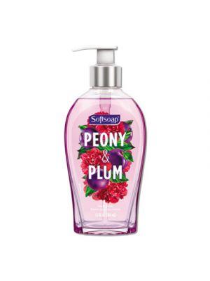 Premium Liquid Hand Soap, Peony, 13 oz, 4/Carton